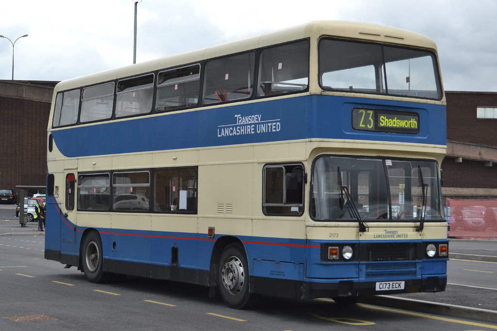 ... Transdev LU Leyland Olympian 2173 C173ECK - Blackburn | by dwb  transport photos