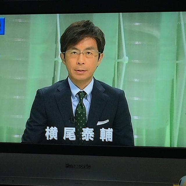 お昼のニュースが台風の特設で、...