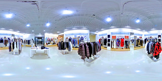 Advertising & marketing photography - 360 degrees virtual tour of clothing store