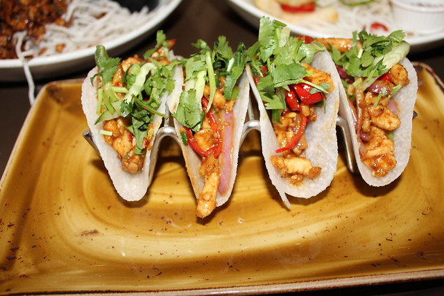 Jicama Street Tacos - Lobster & Shrimp