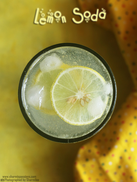 Lemon soda recipe