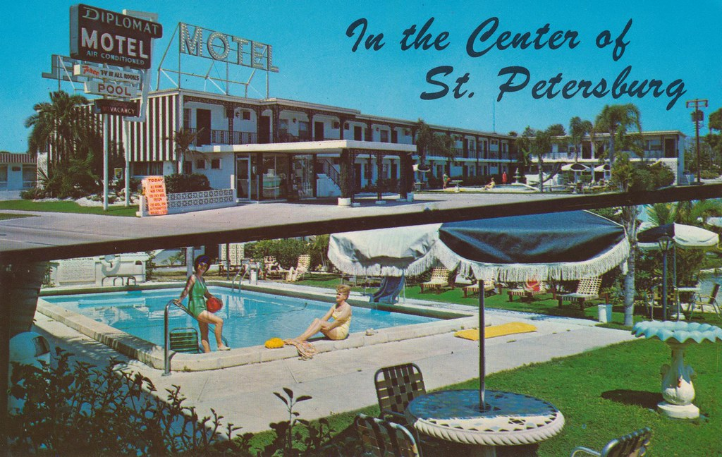 Diplomat Motel - St. Petersburg, Florida