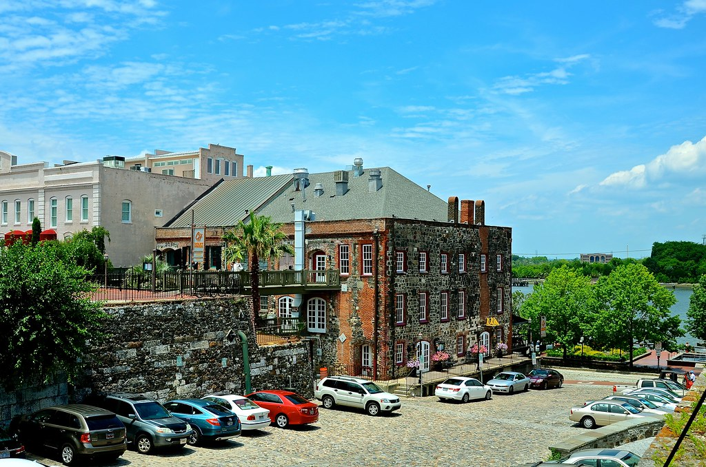 This historic building is now the chart house savannah geo flickr