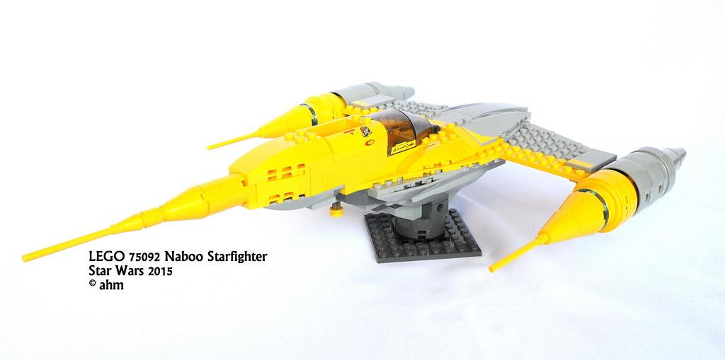 Star Wars LEGO 75092 Naboo Starfighter | Star Wars LEGO 7509… | Flickr
