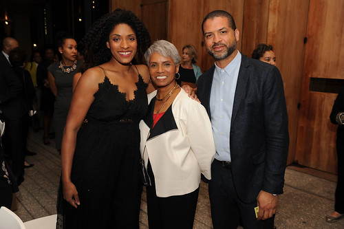 Alicia Hall Moran,Carole Hall, & Jason Moran at Fourth Annual Reception for the PAMM Fund for African American Art