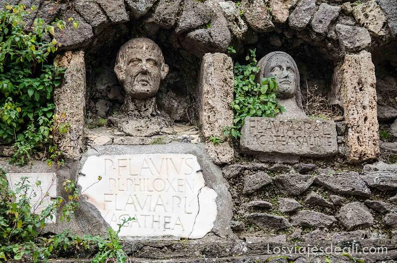 visita a Pompeya tumba