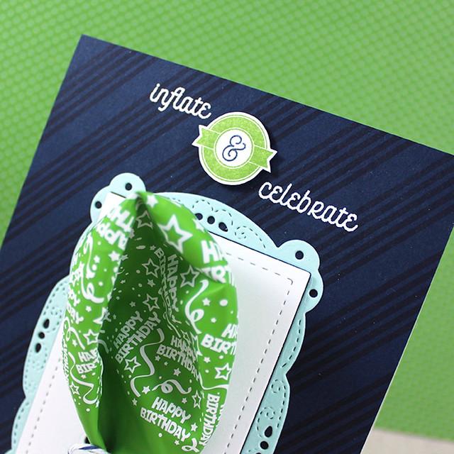 Inflate & Celebrate Close Up