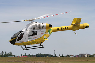 MD902 Explorer G-EHAA - Essex Air Ambulance - North Weald, June 2014 | by DanGB
