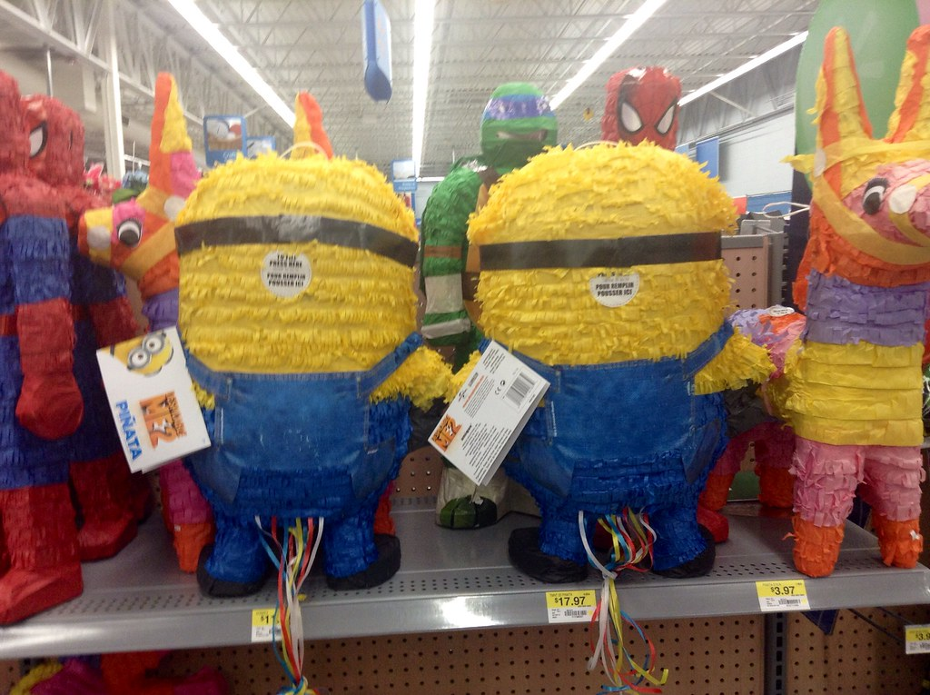 Minion Pinatas From Despicable Me 2 Party Goids Dept At W Flickr