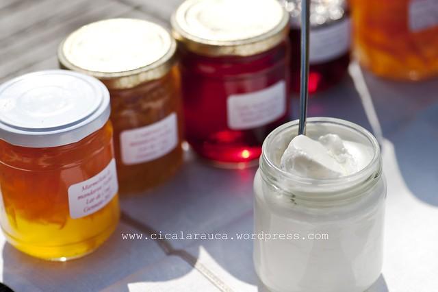 Celestiali (yogurt) e cherubini (marmellate e gélée)