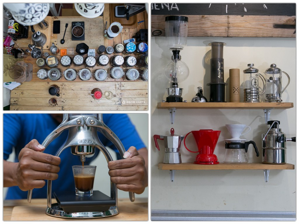 Tools for Brewing Coffee