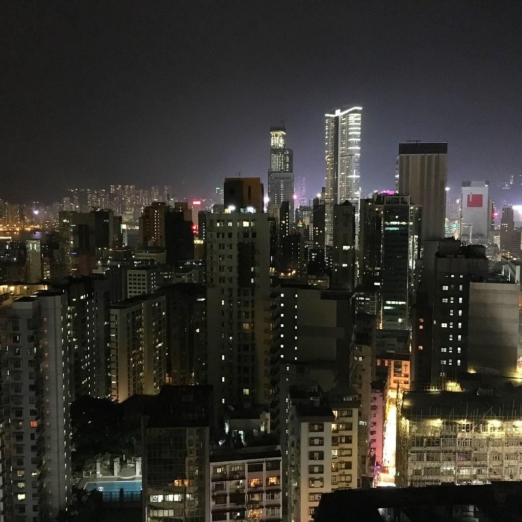 Sky bar Hongkong