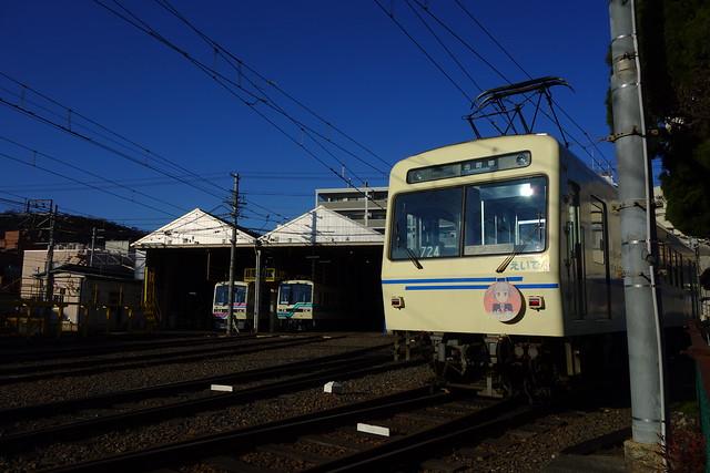 2017/02 叡山電車×NEW GAME! 2016アニメ版ラッピング車両 #49