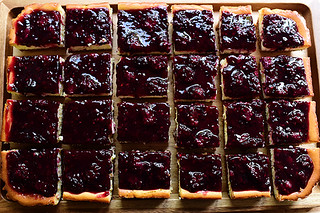 Blackberry Cheesecake Squares | by Ree Drummond / The Pioneer Woman