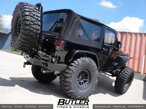 jeep wrangler rubicon   atx  wheels  nitto