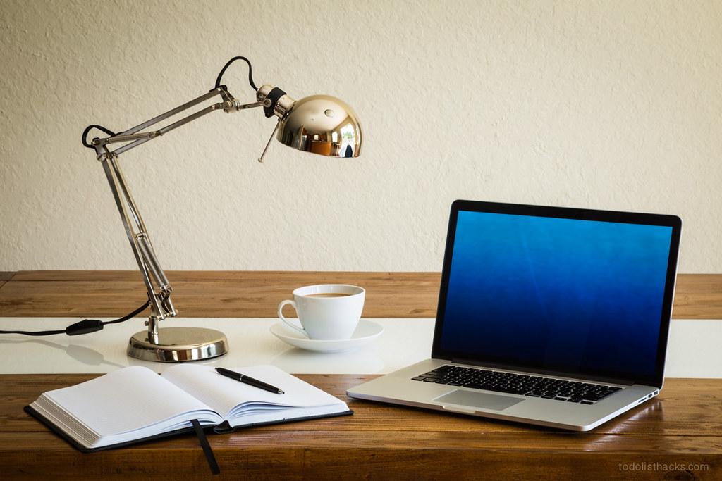 organized work desk kick start your work day with a super flickr