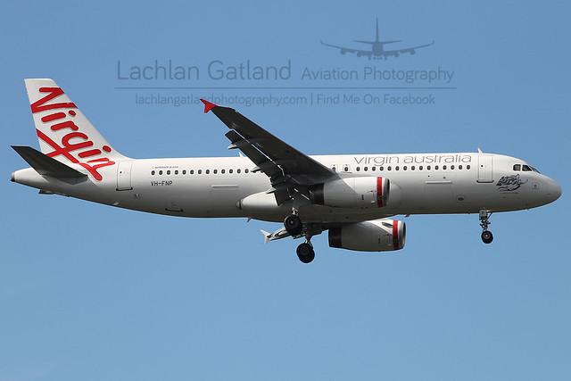 Virgin Australia Regional A320-231 VH-FNP