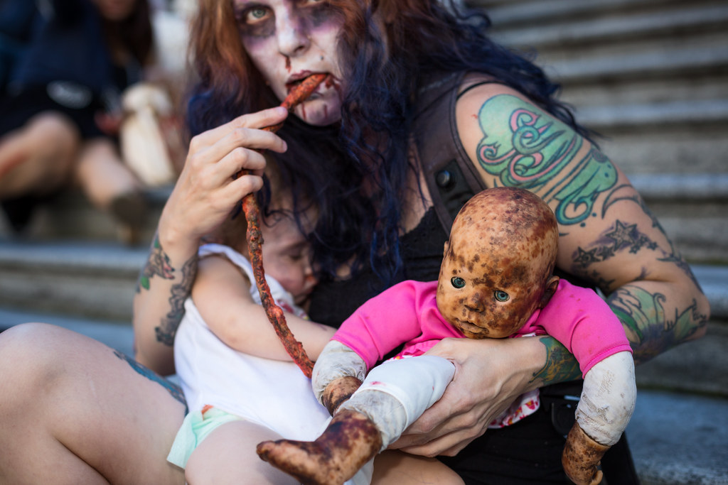 Baby Madison With Zombie Mommy And Baby Here Is Baby Mad Flickr