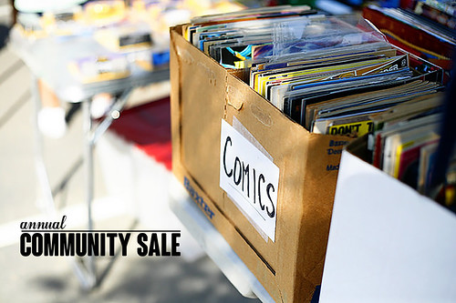 annual community sale text | by ex.libris