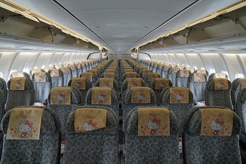 EVA Air Economy Class Cabin | by Luke Lai
