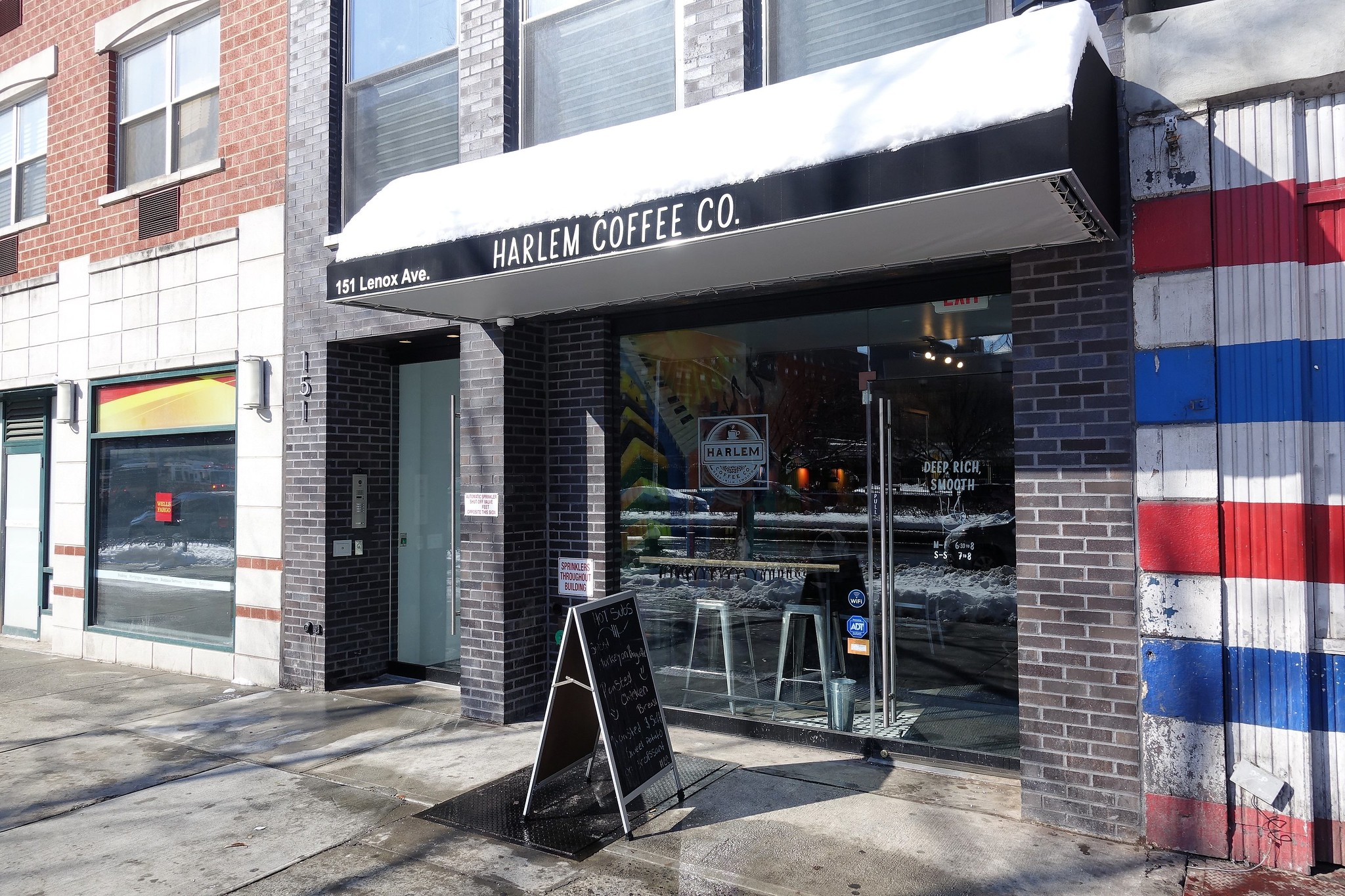 Harlem Coffee Company | Lenox Ave | Harlem | Manhattan | NYC