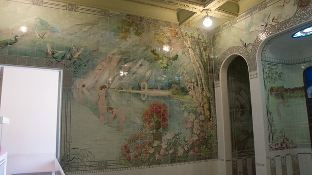 Main bathroom in the Fatima Haider Palace/Royal Jewelry Museum