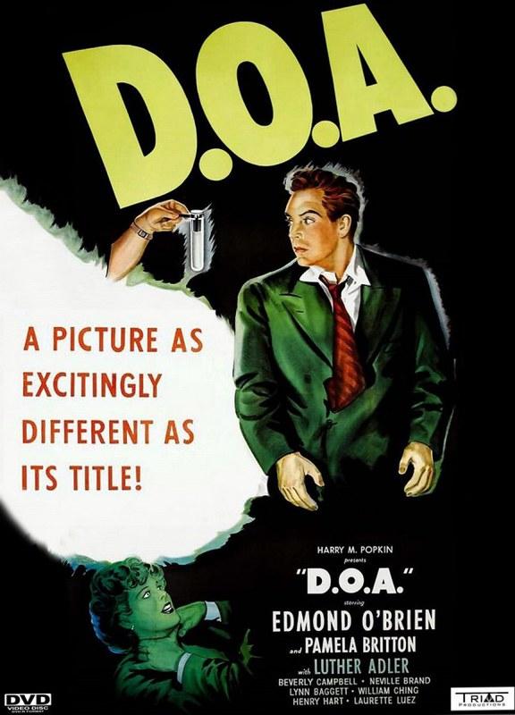 D.O.A. - 1950 - Poster 2