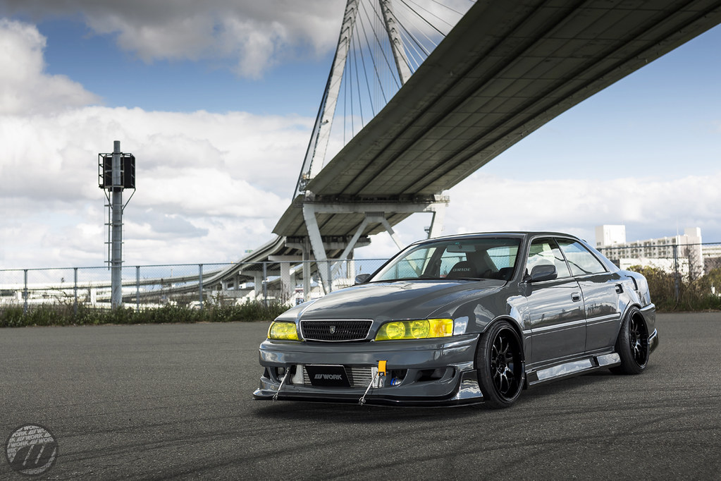 Car Factory M2 Toyota Chaser Jzx100 On Work Emotion D9r Flickr