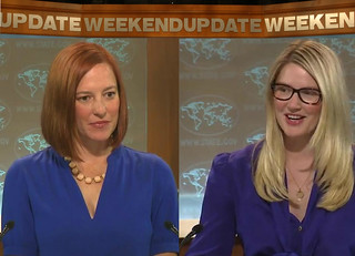 Jen Psaki and Marie Harf look like SNL charaters | by HitAndRun