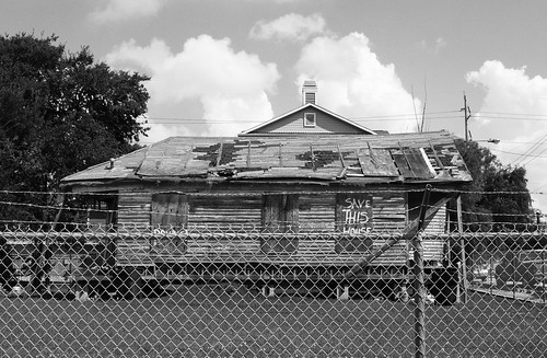 Vanishing Freedmen's Town, Houston, Texas 1409091080bw | by Patrick Feller