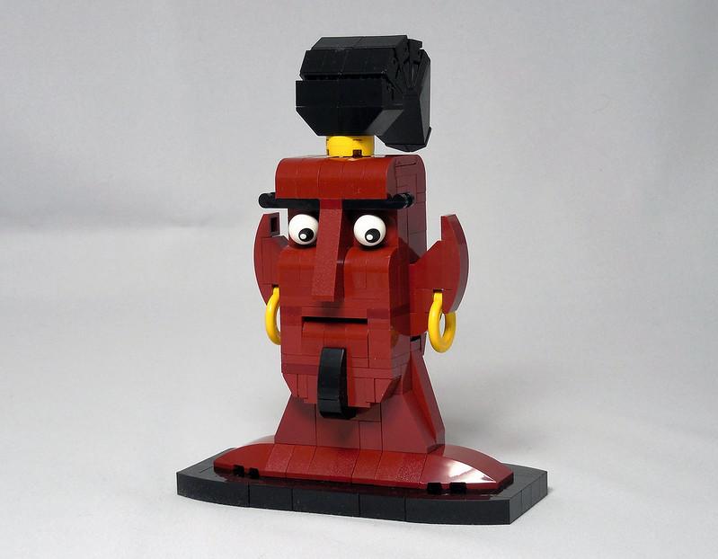 LEGO® MOC by Vitreolum: Dark Genie