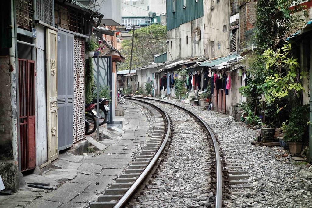 Hanoi - Street - Rail Road 2