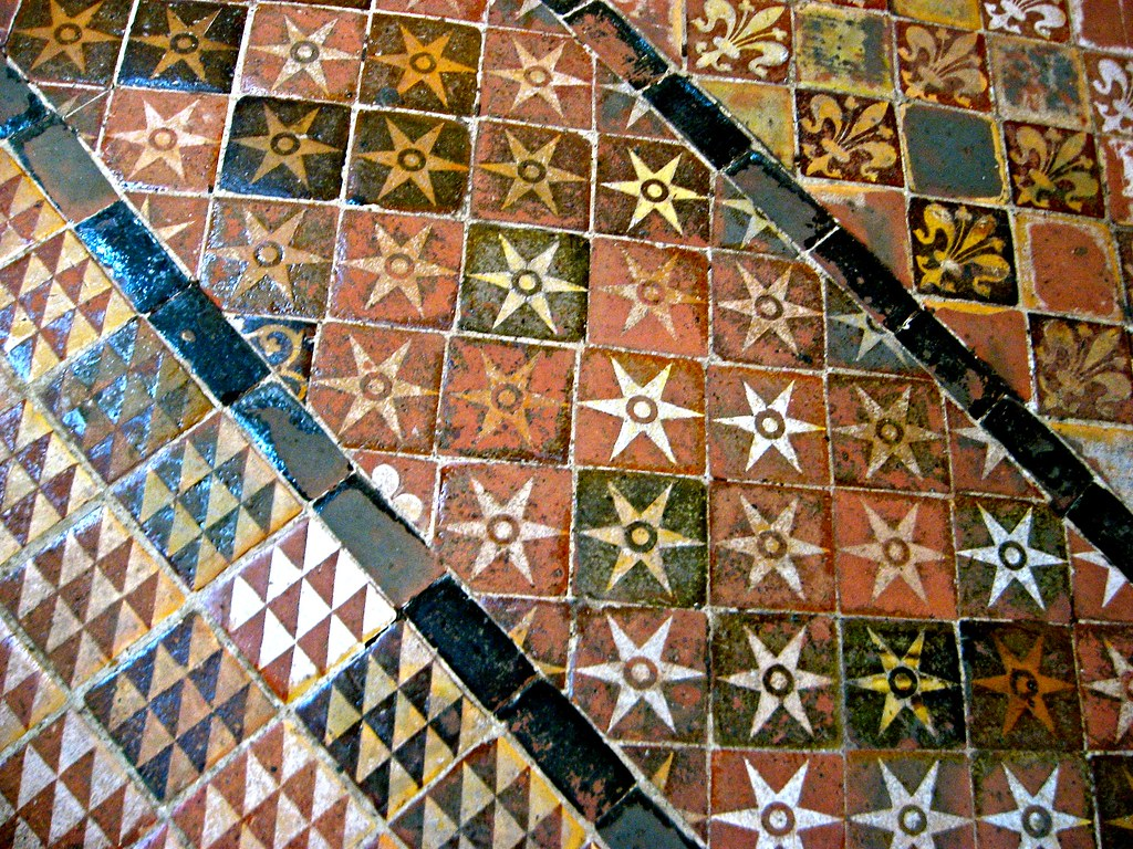 Medieval Floor Tiles, Probably 13th Century, Winchester Ca… | Flickr