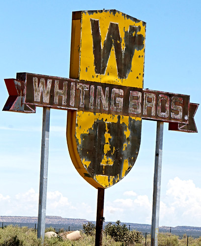 Whiting Bros. Filling station - Route 66 between McCartys & San Fidel, New Mexico | by RoadTripMemories