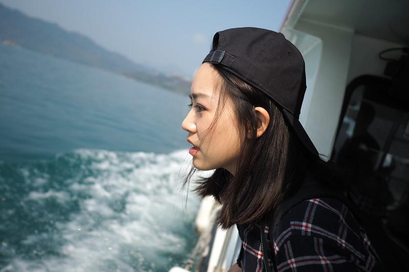 Aubrey 日月潭 Sunmoon Lake
