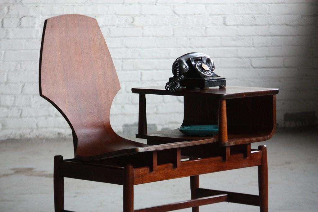 unique plycraft midcentury modern bentwood gossip chair be flickr