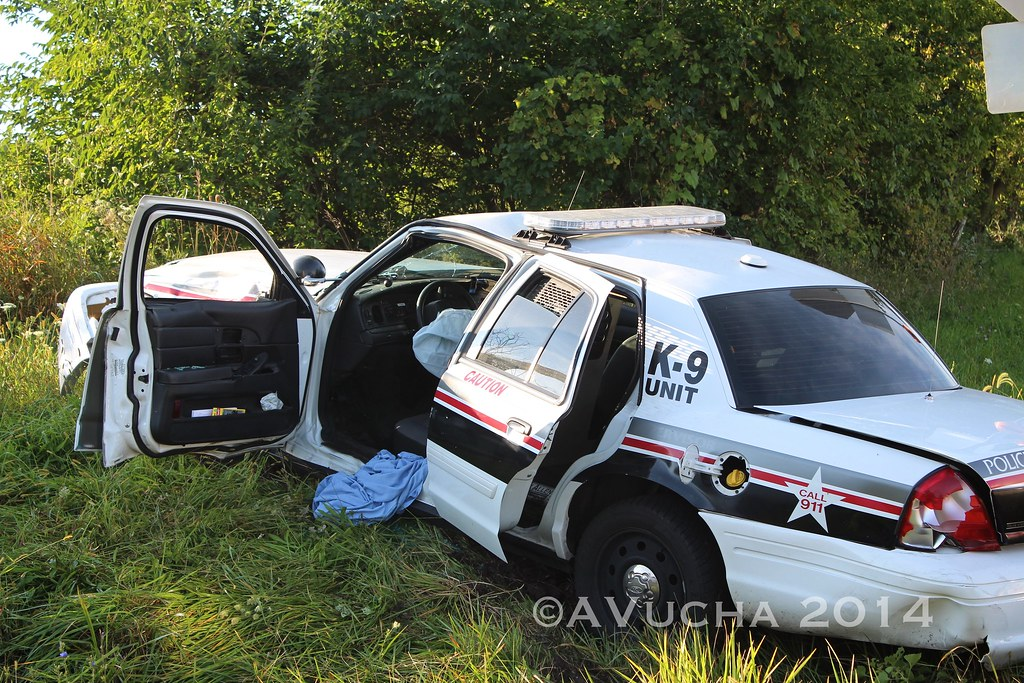 Woodstock K-9 Officer Involved in Vehicle Accident   Flickr