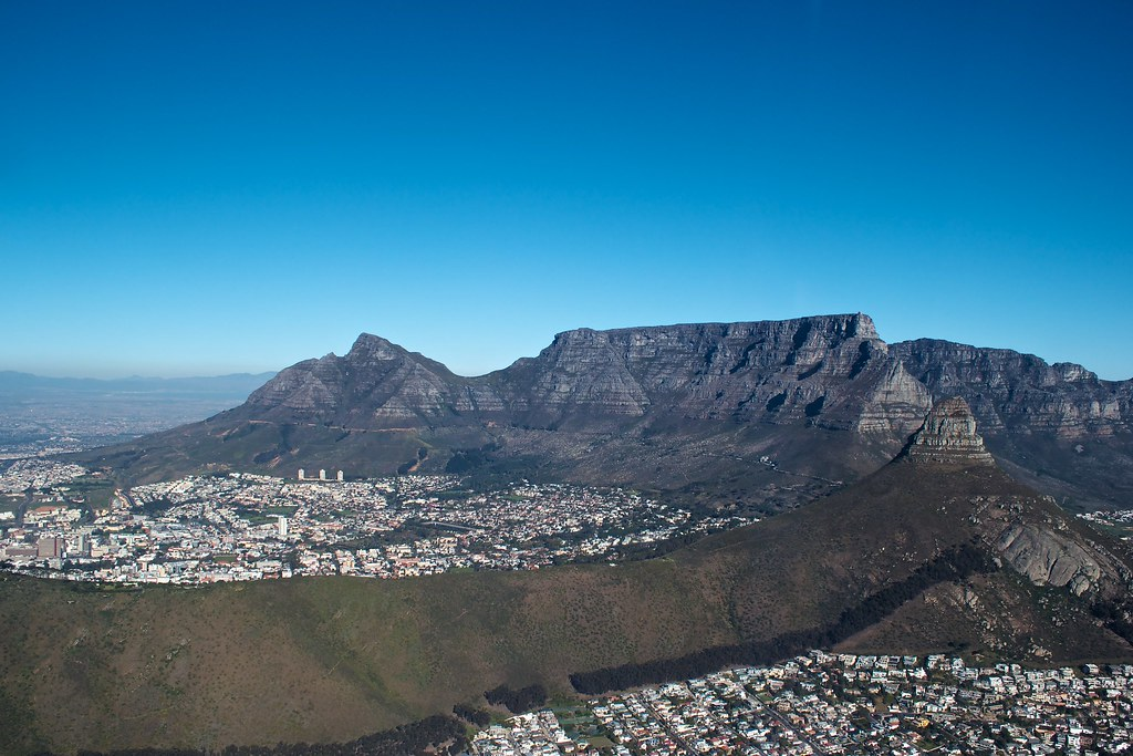 Table Mountain and City Bowl