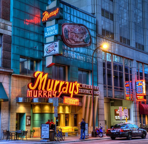 Welcome to Murray's Restaurant. Minneapolis' original restaurant for steak since & home of the award winning Silver Butterknife Steak dinner for two. Also known for mouth watering garlic toast, Hickory Smoked shrimp appetizer, and home baked pies/5(K).