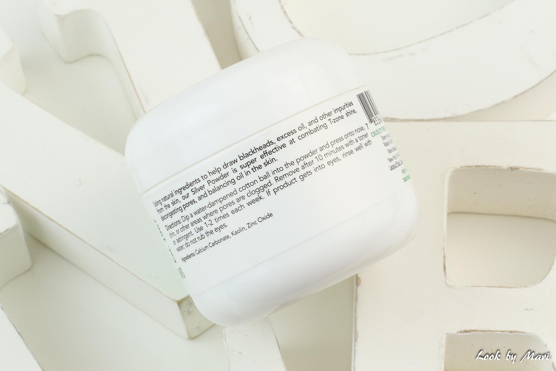 6 mario badescu silver powder how to use miten käyttää käyttö mustapäät kokemuksia suomi
