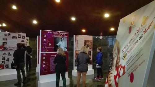 Inauguración de la Muestra de Cine Con Nombre de Mujer y exposición de fotos históricas de mujeres