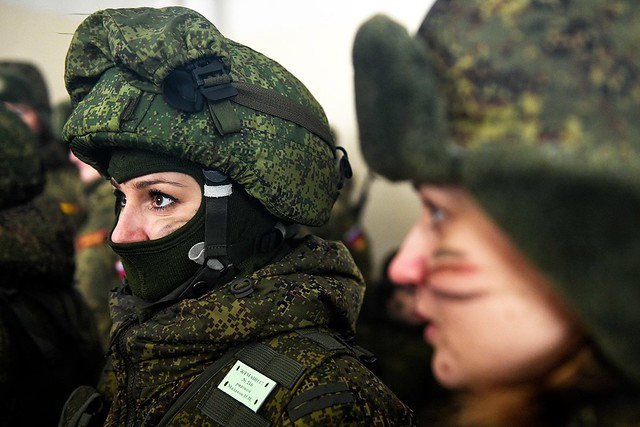 Women in the Russian Armed Forces