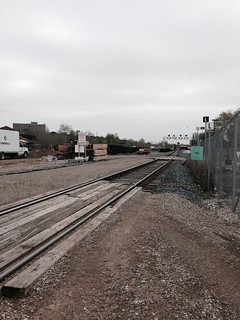 Weston and track work on way to Union. | by Metrolinx