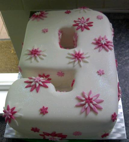 Number 9 Birthday Cake By Suzanne S Bespoke Bakery