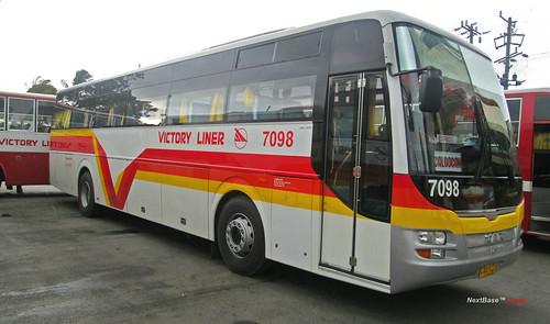 Victory Liner 7098 Victory Liner Inc Bus Number 7098 Bus Flickr
