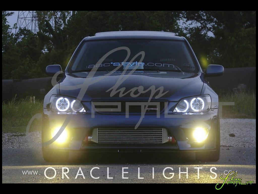 ... ShopPMLIT Lexus IS300 Halo LED Lights Automotive Headlights