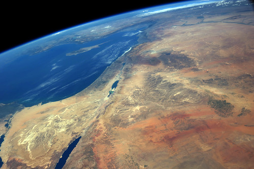 Middle-East and the Mediterranean Sea | by sjrankin