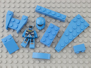 321 Dark Azur / Dark Azure | by Brick Colorstream