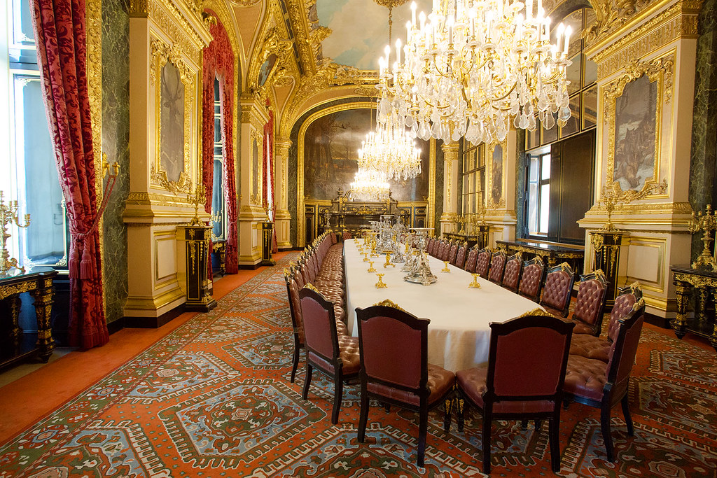... Louis XIV Dining Table At Louvre Paris | By Atibordee_K