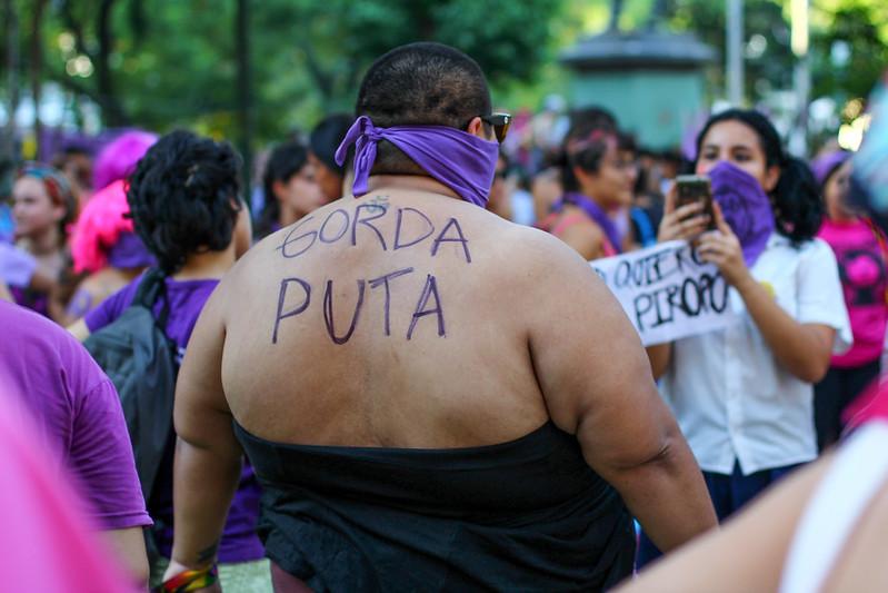 8M Paraguay. Foto: Luis Fernando Morel